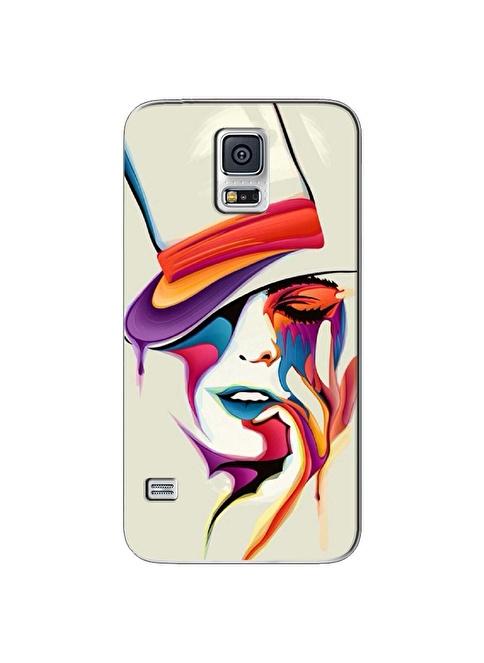 People's Cover Samsung S5 Kabartmalı Telefon Kılıfı Renkli
